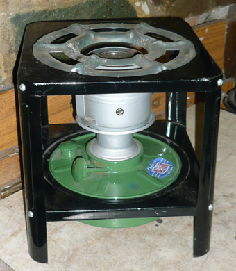 steve brown suspended stove